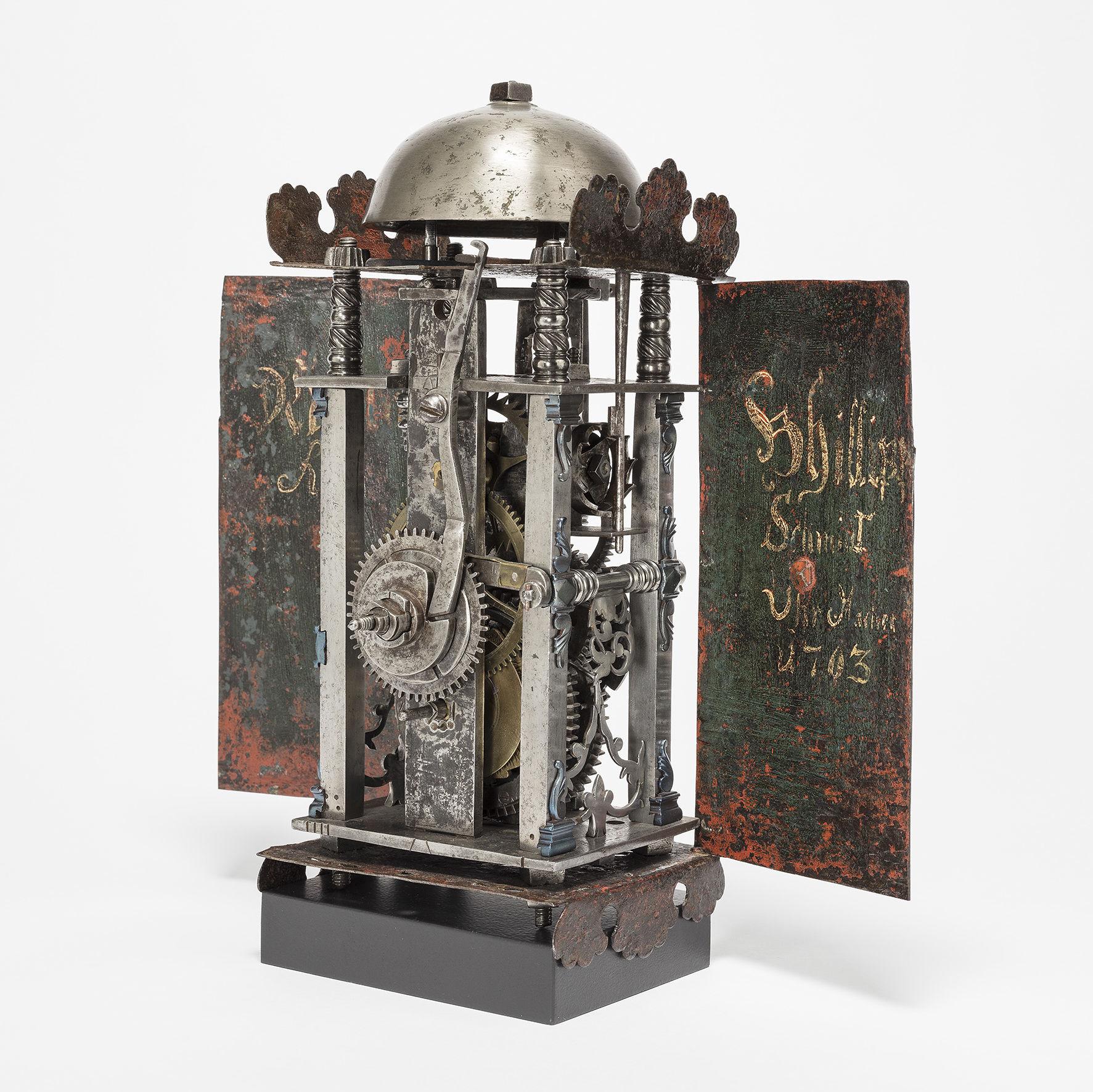 Museum am Mittag: Späte Eisenuhren