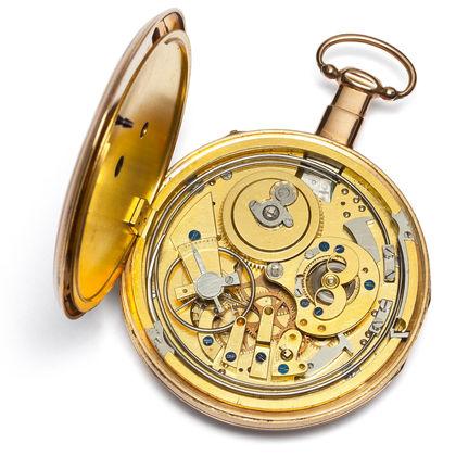 Museum am Mittag: Taschenuhren mit Repetition