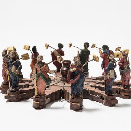 Gastspiel: Die Holzräderuhr von Johan Joseph Gmönder