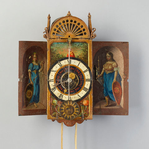 Museum am Mittag: Kalendarische Eisenuhr, 16. Jh.