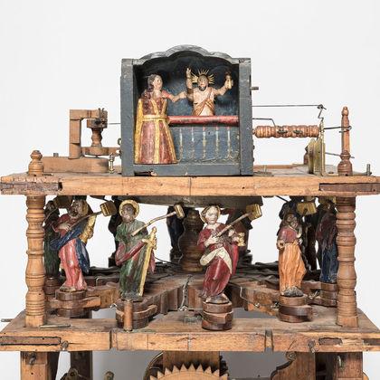 Museum am Mittag: Die Holzräderuhr von Johan Joseph Gmönder