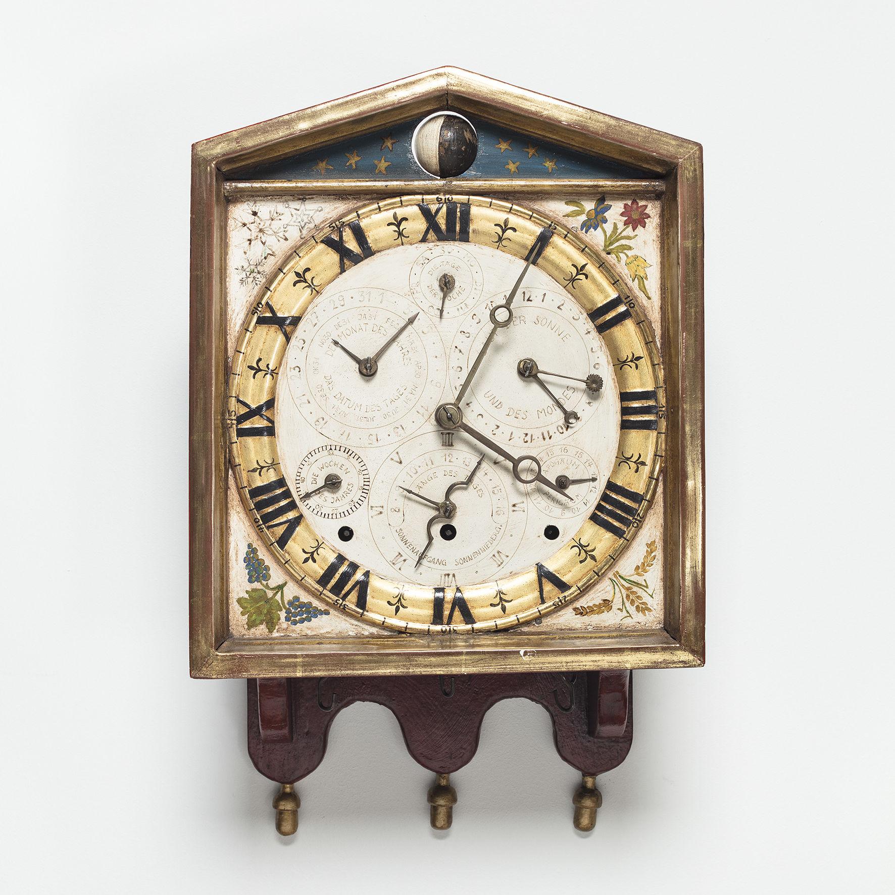Museum am Mittag: Astronomisch-kalendarische Wanduhr