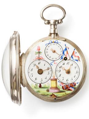 Logo Ausstellung Zeit der kleinen Uhren – die Sammlung Oscar Schwank
