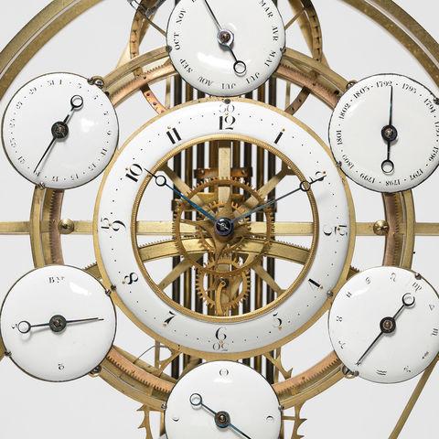 Museum am Mittag: Kalendarische Präzisions-Tischuhr
