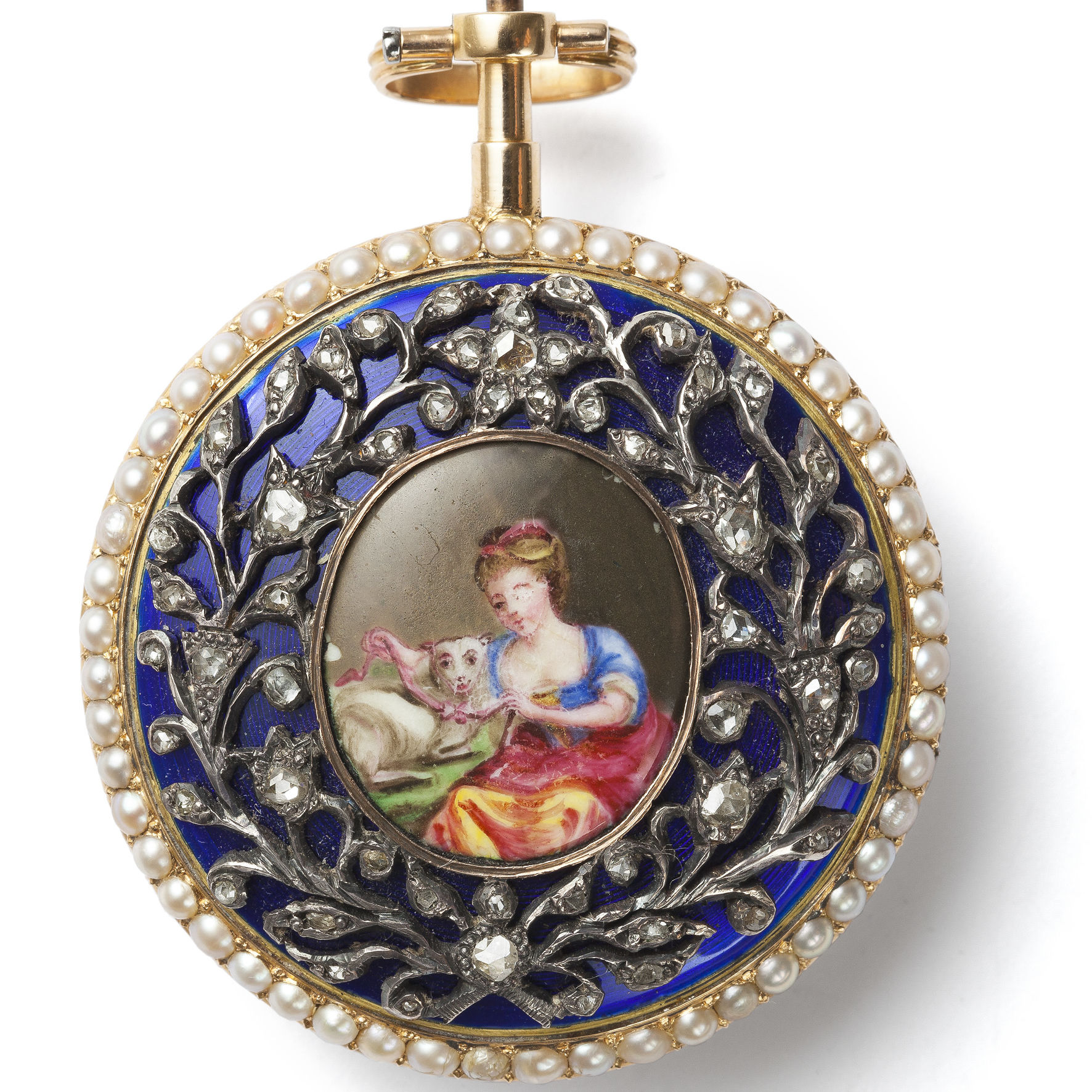 Museum am Mittag: Französische Schmuck-Taschenuhren