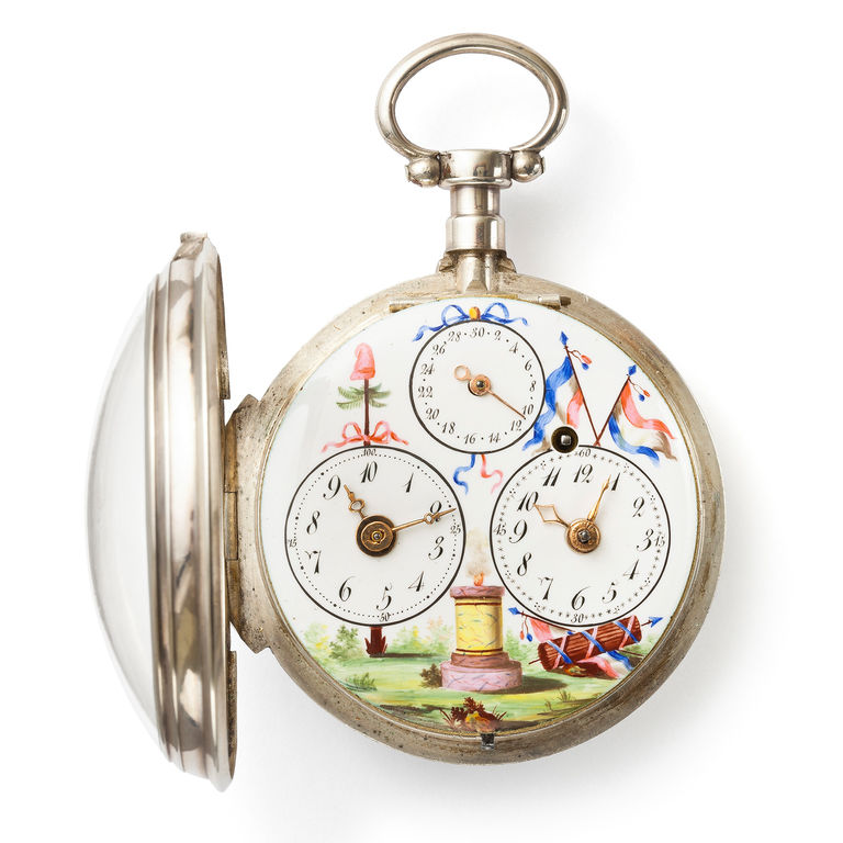 Revolutionary pocket watch