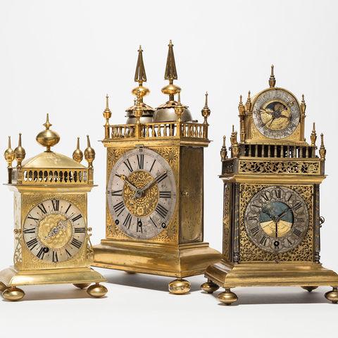 Museum am Mittag: Drei Tischuhren der deutschen Schweiz um 1700