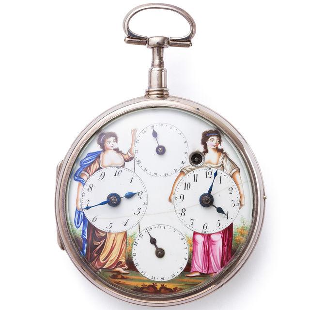 Revolutions-Taschenuhr, Frankreich, um 1793/95